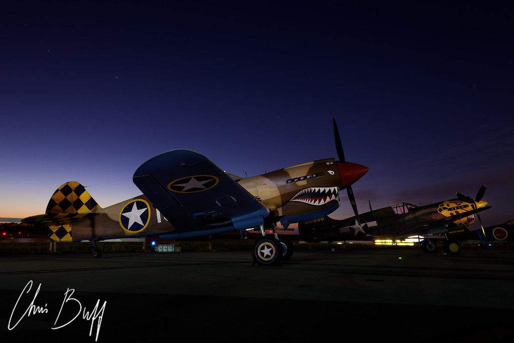 P-40 Pair - 2016 Christopher Buff, www.Aviationbuff.com