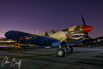 Tiger at Twilight - 2016 Christopher Buff, www.Aviationbuff.com