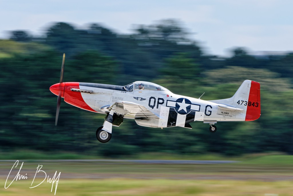 Red Nose Takeoff - 2016 Christopher Buff, www.Aviationbuff.com