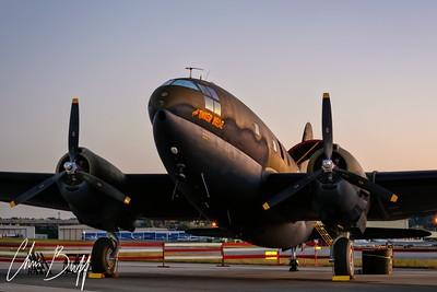 Sunrise on Tink - 2016 Christopher Buff, www.Aviationbuff.com