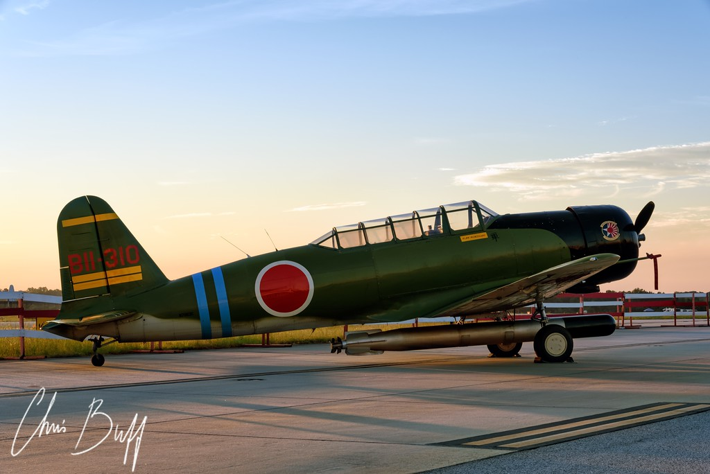 Rising Sun - 2016 Christopher Buff, www.Aviationbuff.com