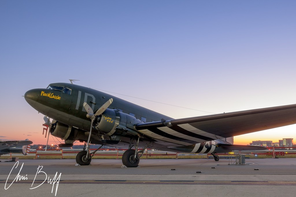 Sunrise on Placid Cassie - 2016 Christopher Buff, www.Aviationbuff.com