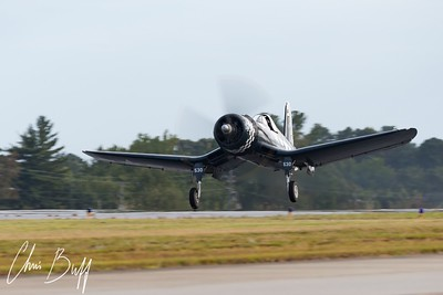 Corsair Takeoff - 2017 Christopher Buff, www.Aviationbuff.com