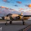 Killer B Sunset Arrival - 2017 Christopher Buff, www.Aviationbuff.com