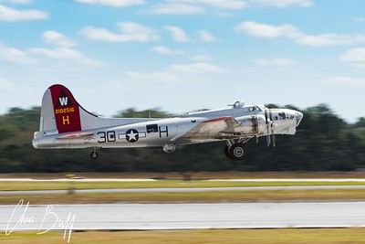 Aluminum Overcast Takeoff - 2017 Christopher Buff, www.Aviationbuff.com