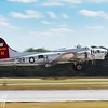Aluminum Overcast Takeoff - 2017 Christopher Buff, www.Aviationbuff.com