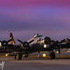Aluminum Overcast at Dawn - 2018 Christopher Buff, www.Aviationbuff.com