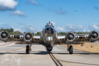 B-17 Engine Runup