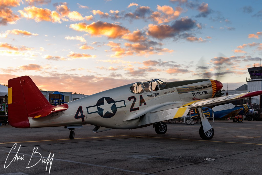 Red Tail P-51C Mustang - 2017 Christopher Buff, www.Aviationbuff.com