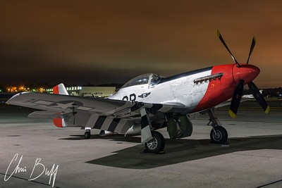 Red Nose Waits For Dawn - 2017 Christopher Buff, www.Aviationbuff.com