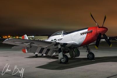 Red Nose Waits For Dawn - 2017 Christopher Buff, www.Aviationbuff.com