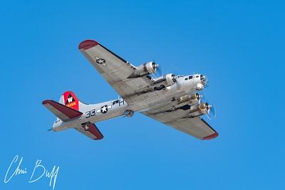 Flying Fortress over PDK - 2017 Christopher Buff, www.Aviationbuff.com