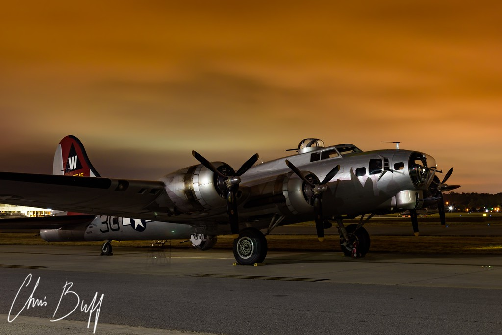 Overcast before Dawn - 2017 Christopher Buff, www.Aviationbuff.com