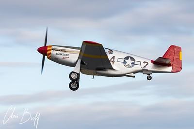 Mustang Overhead - 2017 Christopher Buff, www.Aviationbuff.com