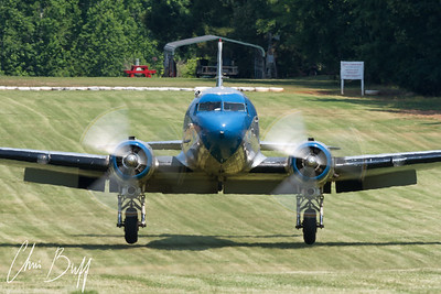 DC-3 Touches Down