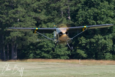 Stinson on Short Final
