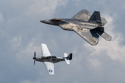 Mustang / Raptor Heritage Flight