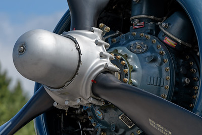 Corsair Prop and Engine