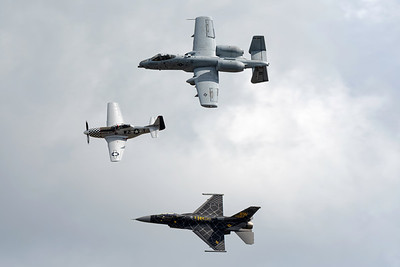 Hertiage Flight with Warthog Mustang and Viper