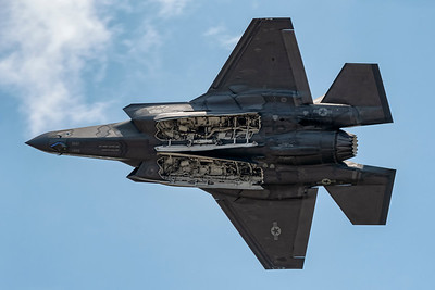 F-35A Weapons Bay Pass