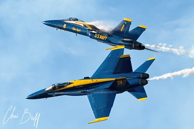 Blue Angels Break - 2017 Christopher Buff, www.Aviationbuff.com