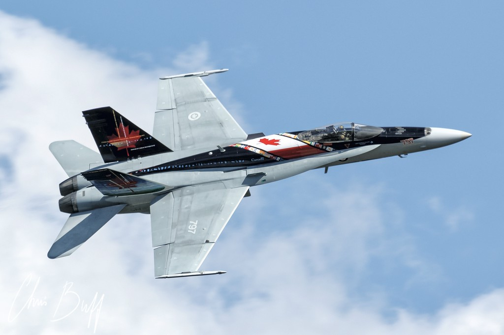 RCAF Hornet by Chris Buff, Aviationbuff.com