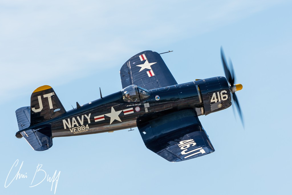 Soaring Corsair - 2015 Christopher Buff, www.Aviationbuff.com