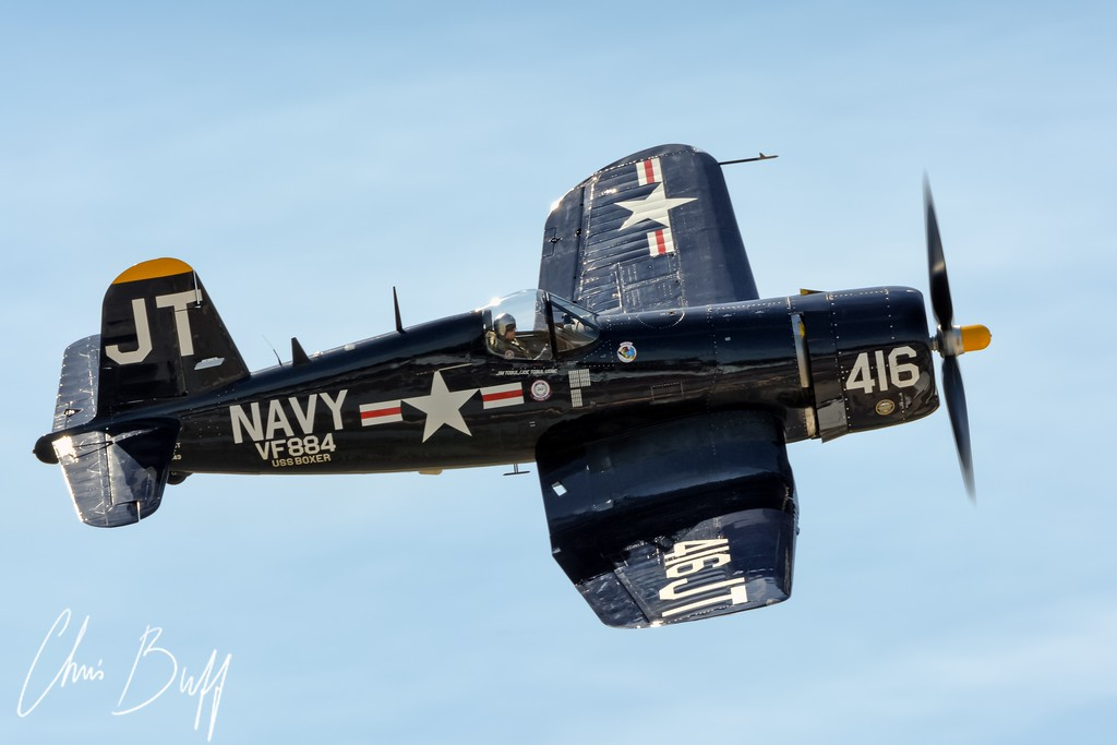Corsair High - 2015 Christopher Buff, www.Aviationbuff.com