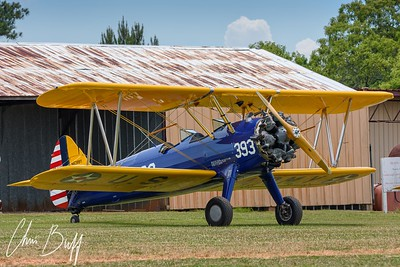Stearman & Old Hangar