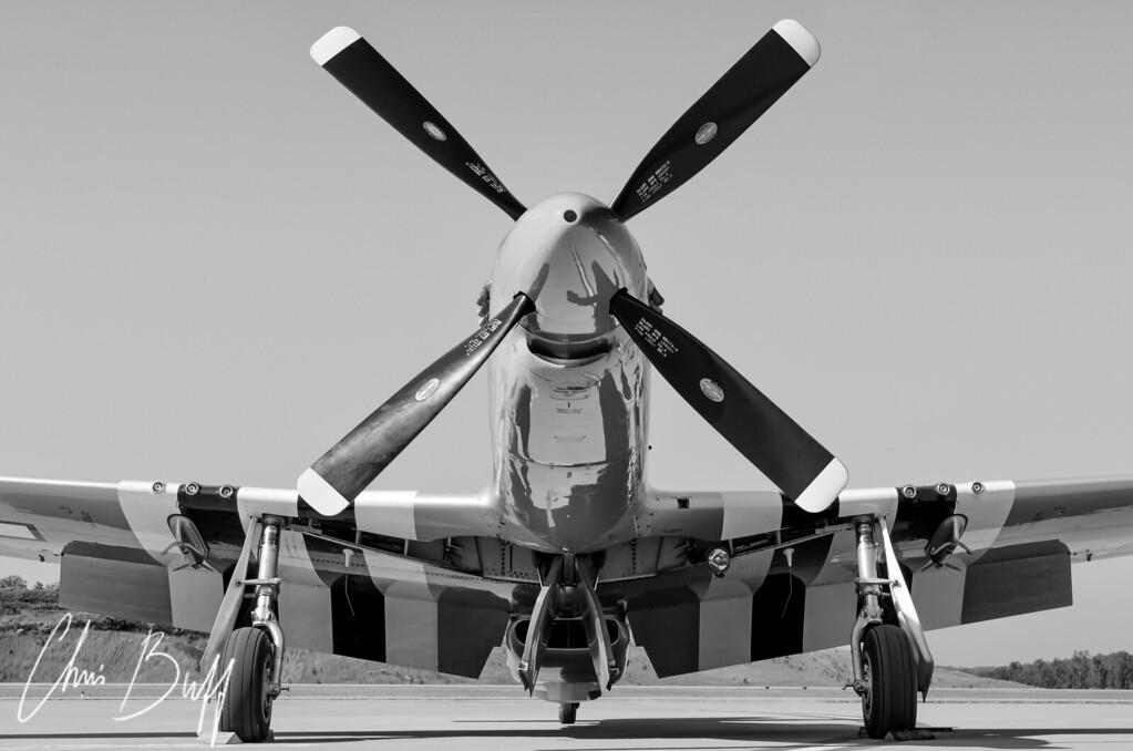 Never Keep A Mustang Waiting - Christopher Buff, www.Aviationbuff.com