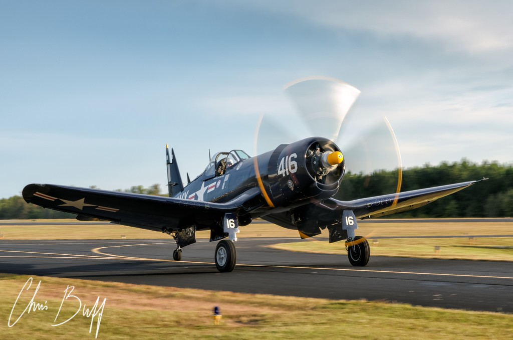 "F4U Corsair ""Korean War Hero"" - 2016 Christopher Buff, www.Aviationbuff.com"