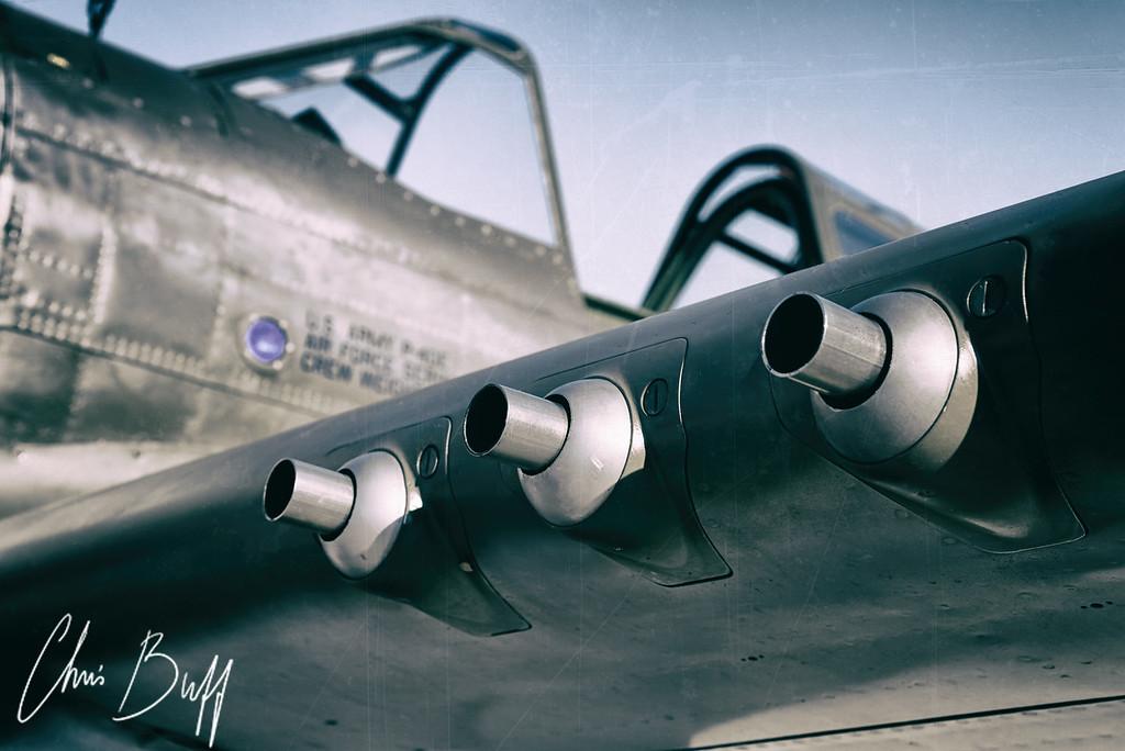 Warhawk Guns - 2016 Christopher Buff, www.Aviationbuff.com