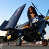 Twilight Corsair - 2017 Christopher Buff, www.Aviationbuff.com