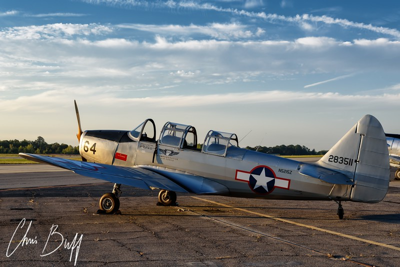 PT-19 at Sunrise - 2016 Christopher Buff, www.Aviationbuff.com