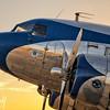 DC-3 Sunset - Christopher Buff, www.Aviationbuff.com