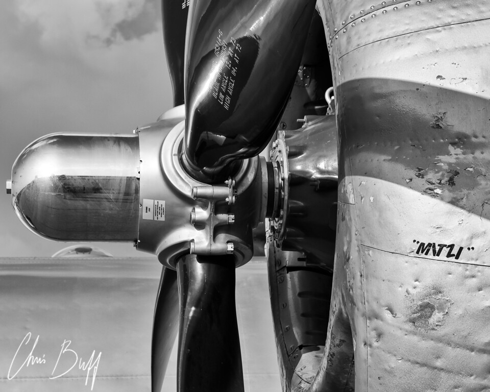 MITZI's Closeup - Christopher Buff, www.Aviationbuff.com