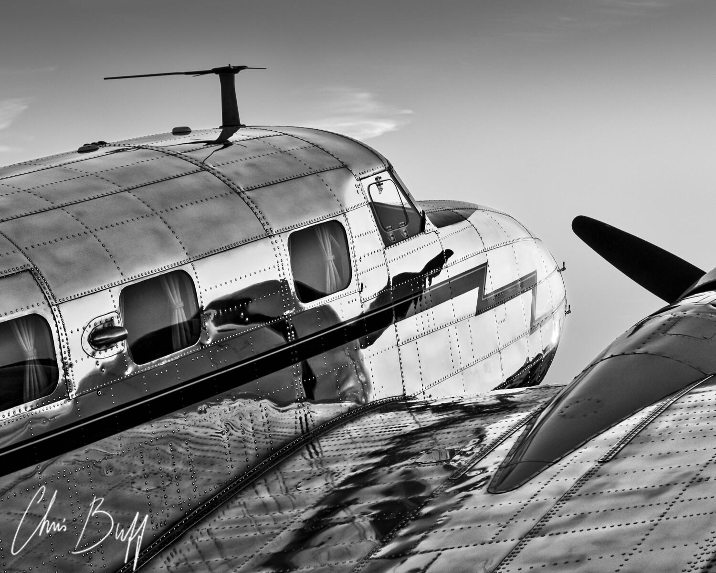 Electra at last light - Christopher Buff, www.Aviationbuff.com