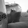 AT-11 in Black and White - 2017 Christopher Buff, www.Aviationbuff.com