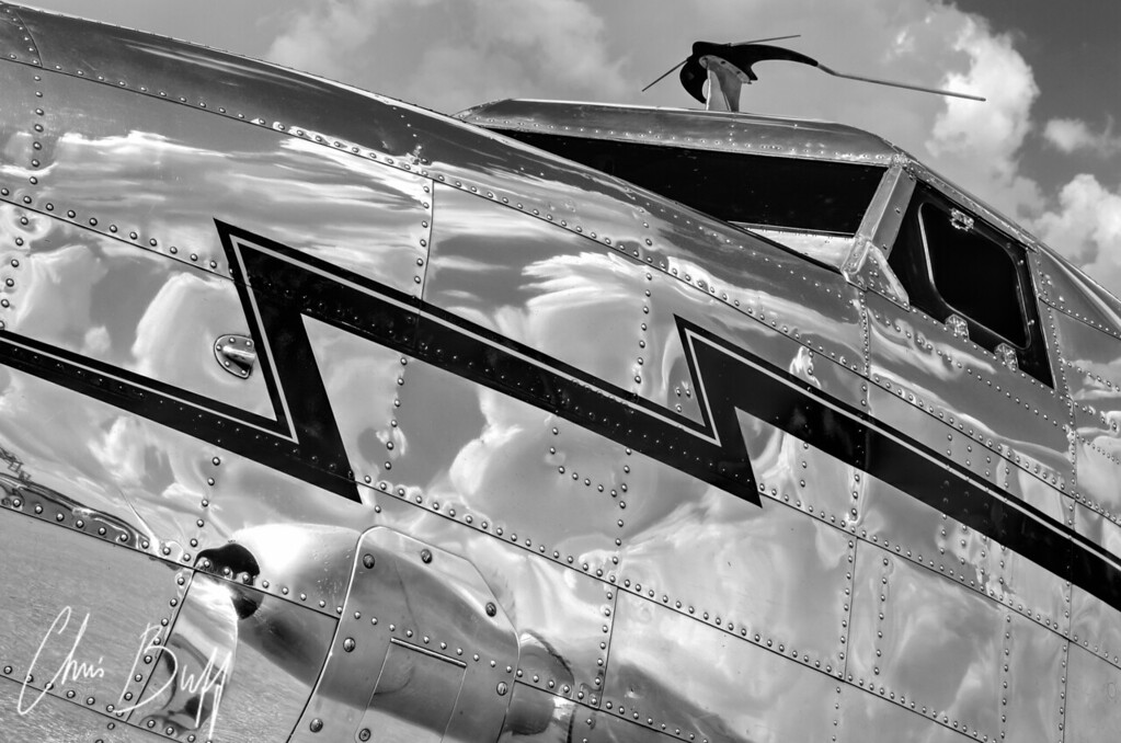 Reflecting on the Electra - 2012 Christopher Buff, www.Aviationbuff.com