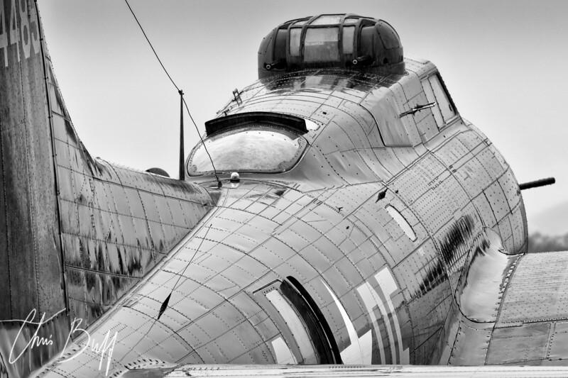 Fortress in the Rain - 2015 Christopher Buff, www.Aviationbuff.com