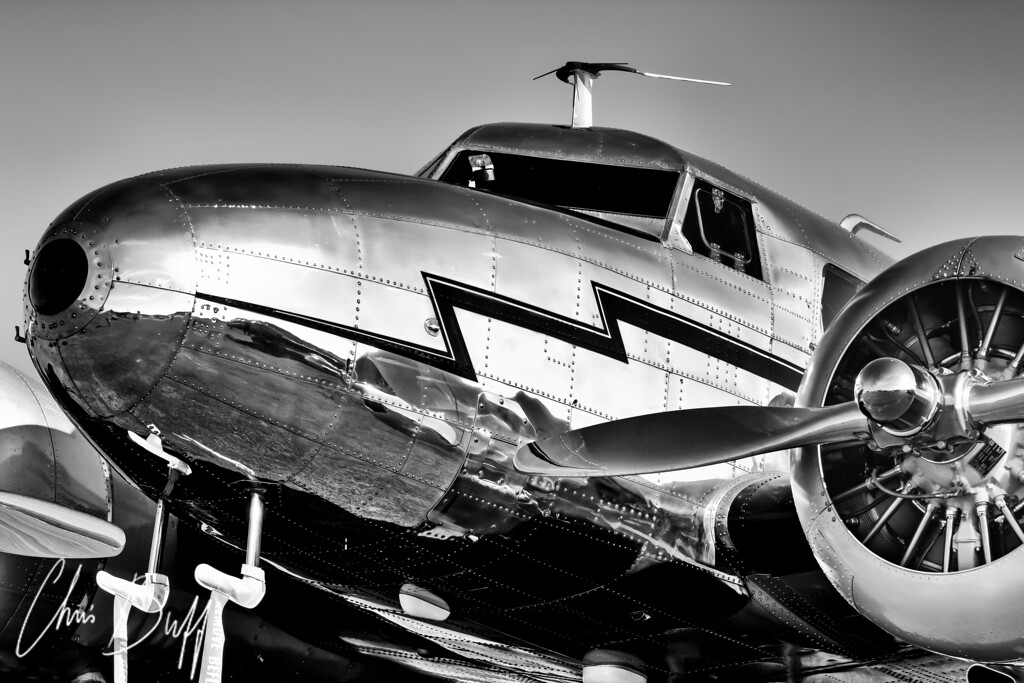 Lockheed 12A Electra - Christopher Buff, www.Aviationbuff.com