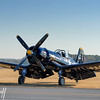 Corsair on the Grass  - 2016 Christopher Buff, www.Aviationbuff.com