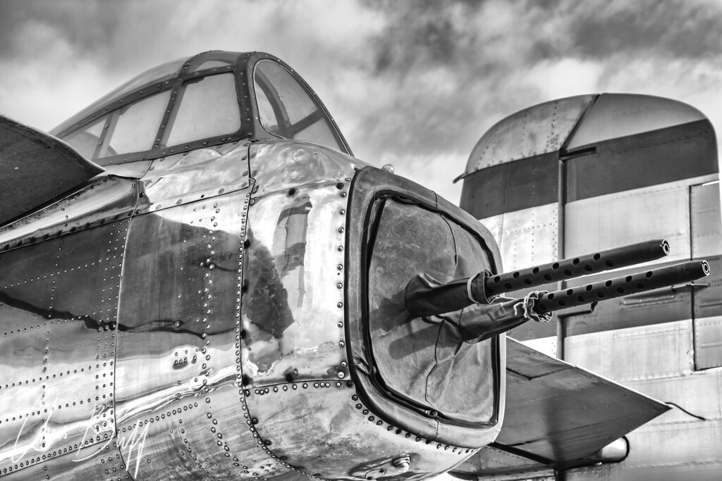 Mitchell Tail Guns - Christopher Buff, www.Aviationbuff.com