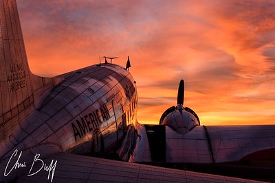 Red Sky at Morn - 2017 Christopher Buff, www.Aviationbuff.com
