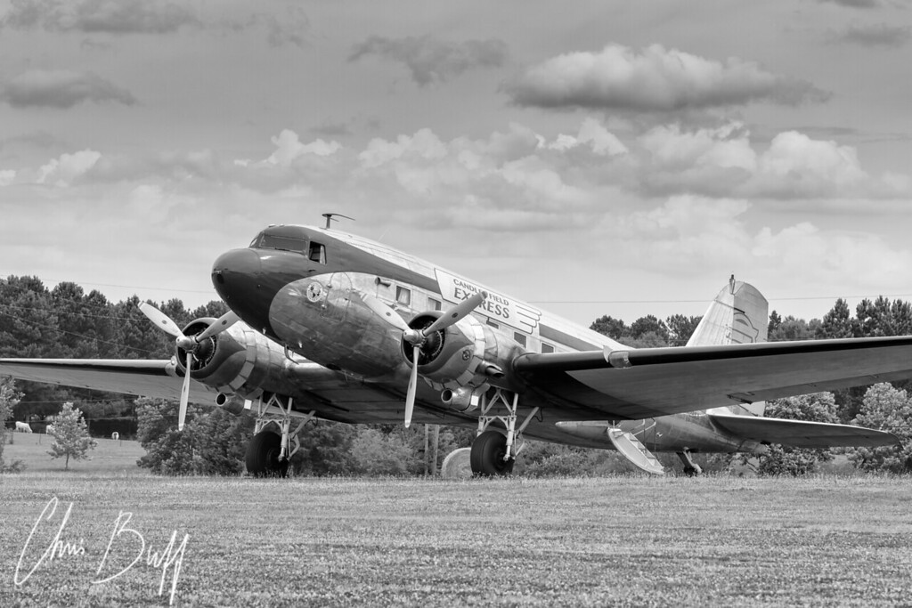 1940's Airstrip - 2016 Christopher Buff, www.Aviationbuff.com
