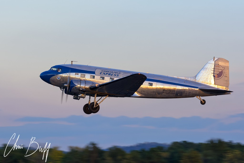 Twilight Departure - 2016 Christopher Buff, www.Aviationbuff.com