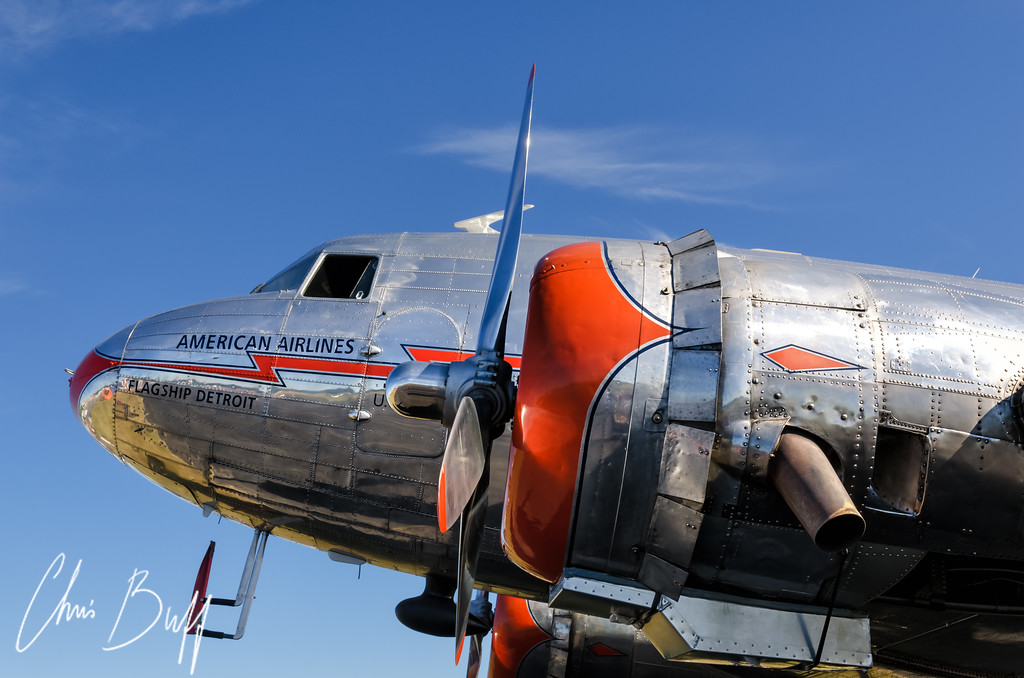 American Airlines DC-3 - 2016 Christopher Buff, www.Aviationbuff.com