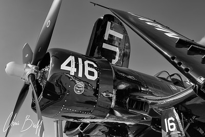 Corsair at Rest - 2016 Christopher Buff, www.Aviationbuff.com