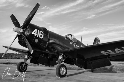 Corsair Sundown in Black and White