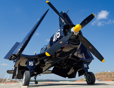 "Jim Tobul's F4U Corsair ""Korean War Hero"""